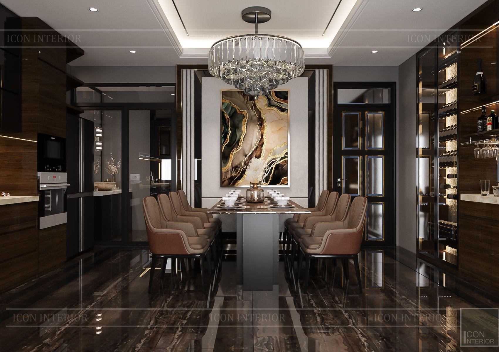 thiết kế căn hộ chung cư - phòng ăn 1