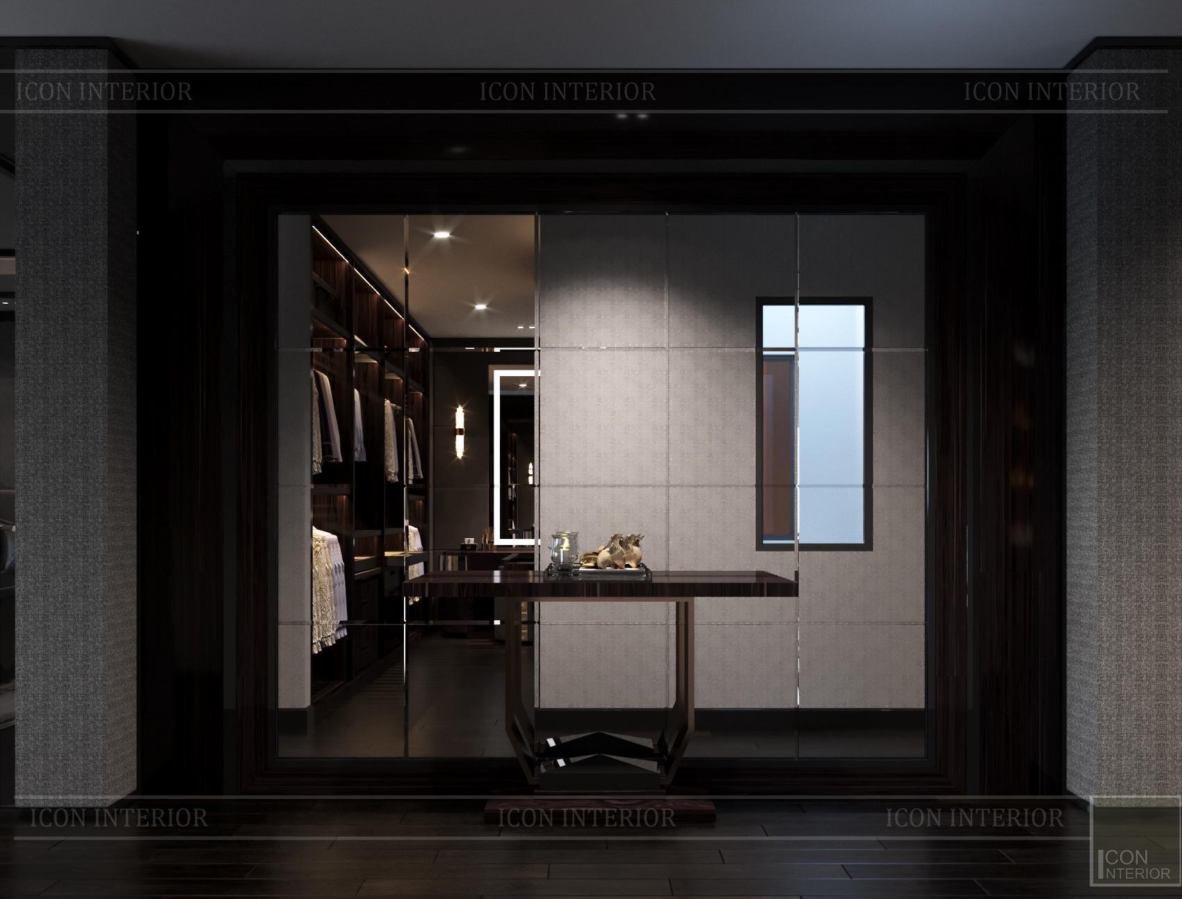 thiết kế căn hộ chung cư bàn console