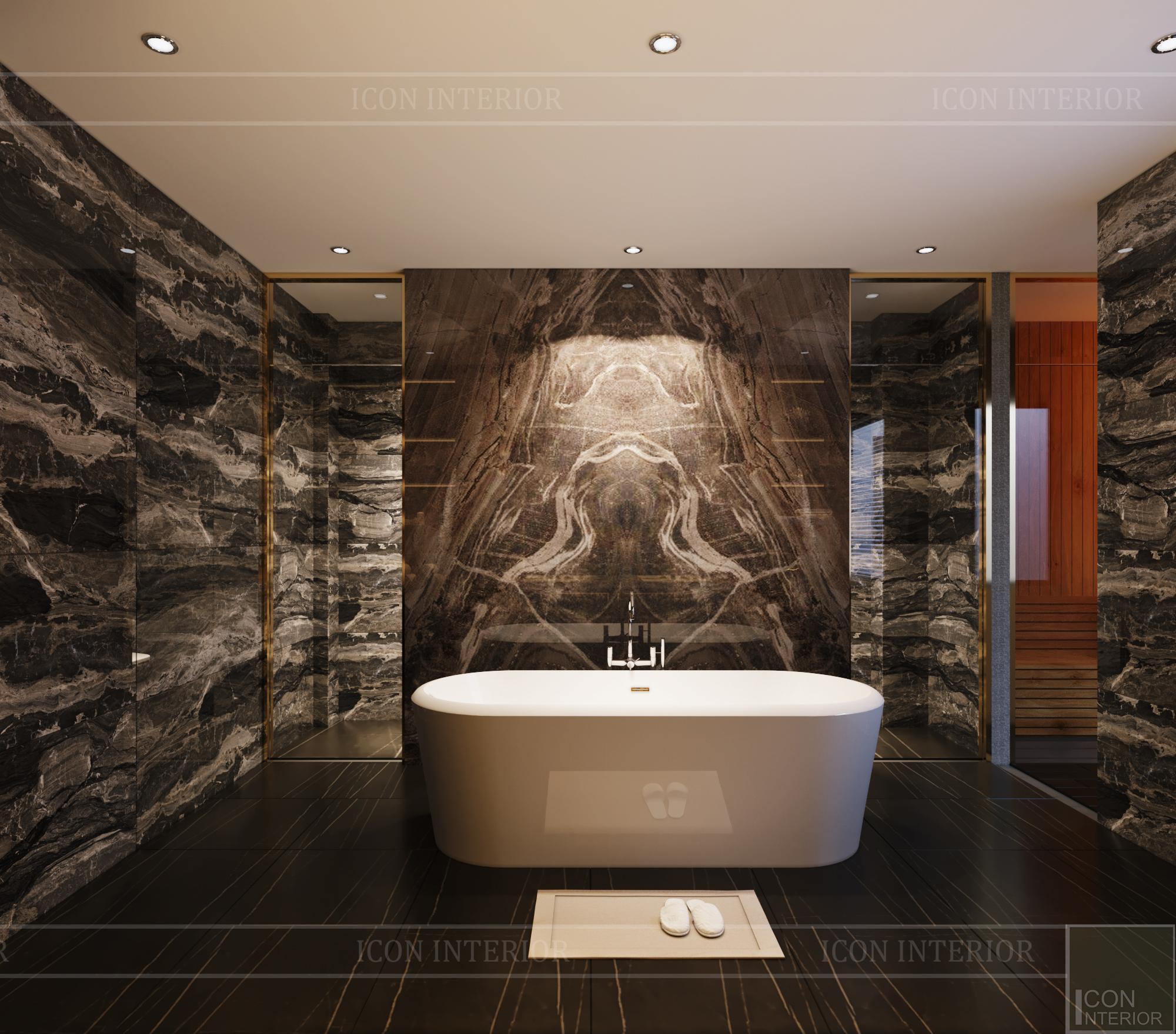 thiết kế căn hộ chung cư - phòng tắm 2