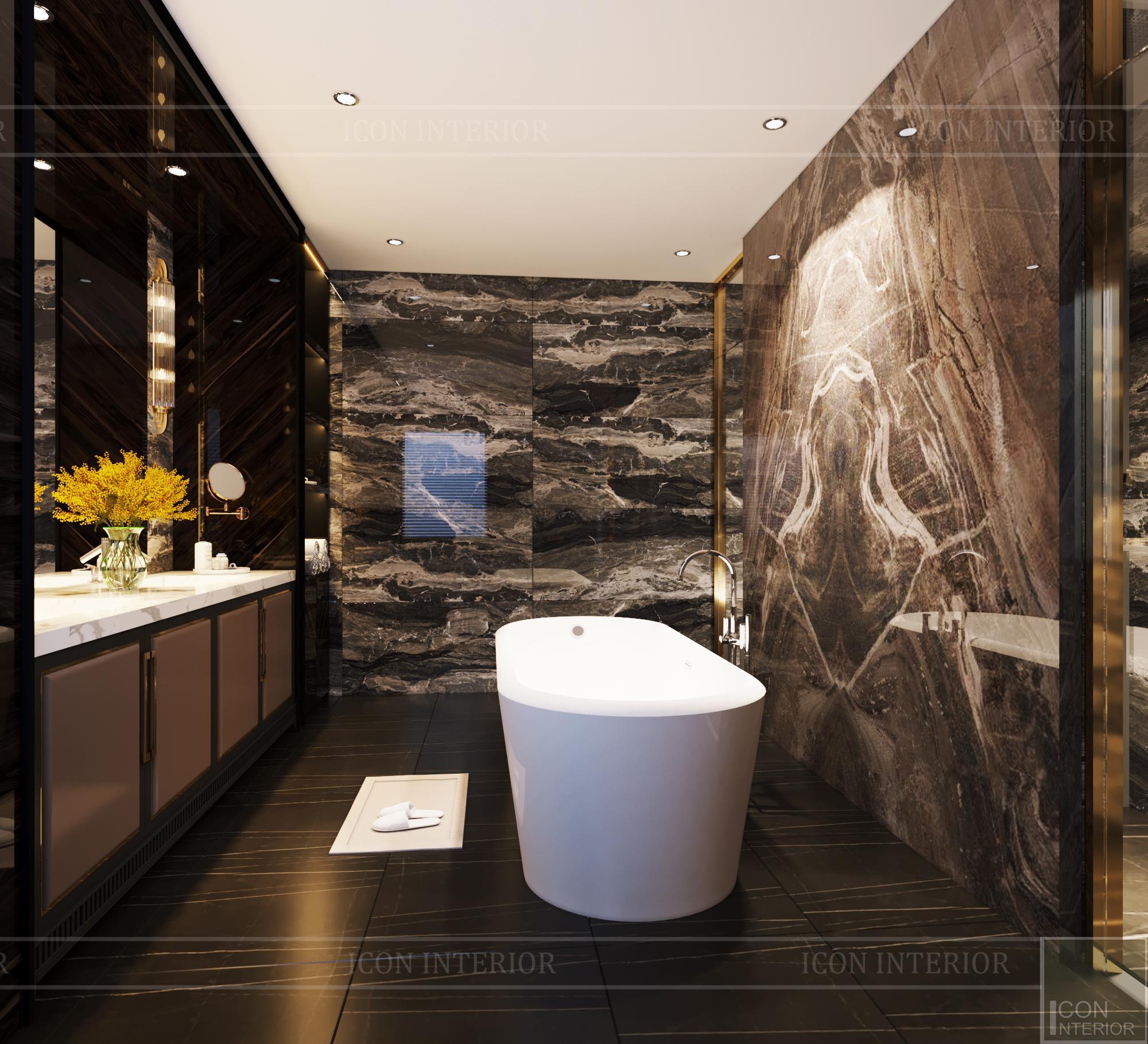 thiết kế căn hộ chung cư - phòng tắm 3