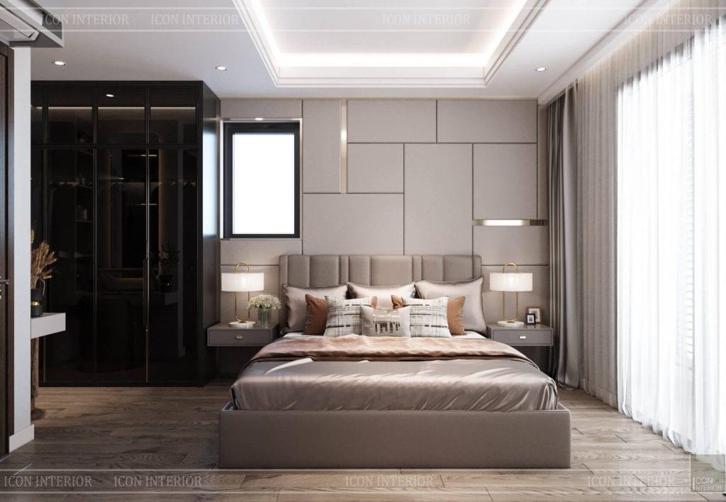 thiết kế căn hộ 110m2 3 phòng ngủ