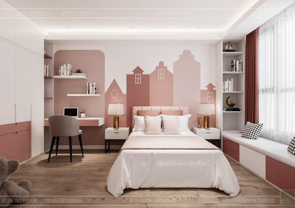 mẫu nội thất căn hộ chung cư 110m2