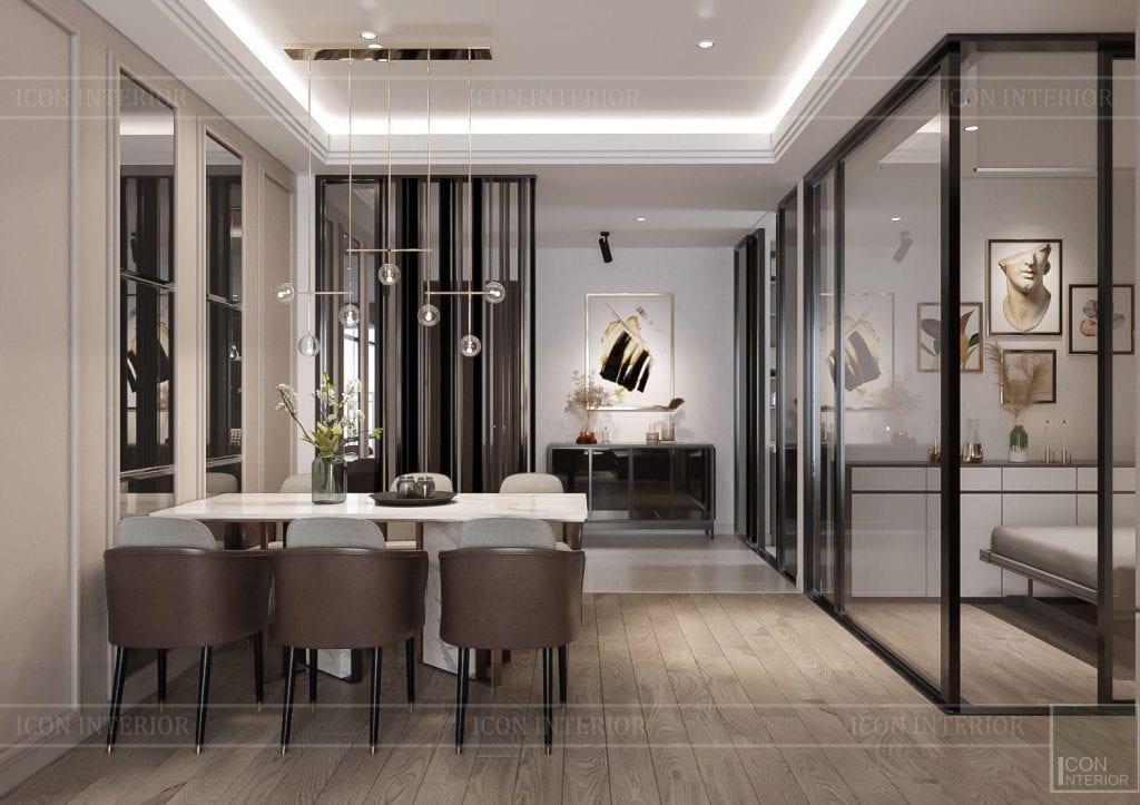 giá thiết kế nội thất chung cư 110m2