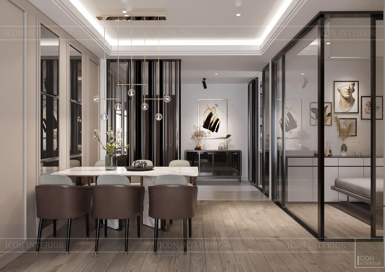 Mẫu thiết kế nội thất khu vực ăn