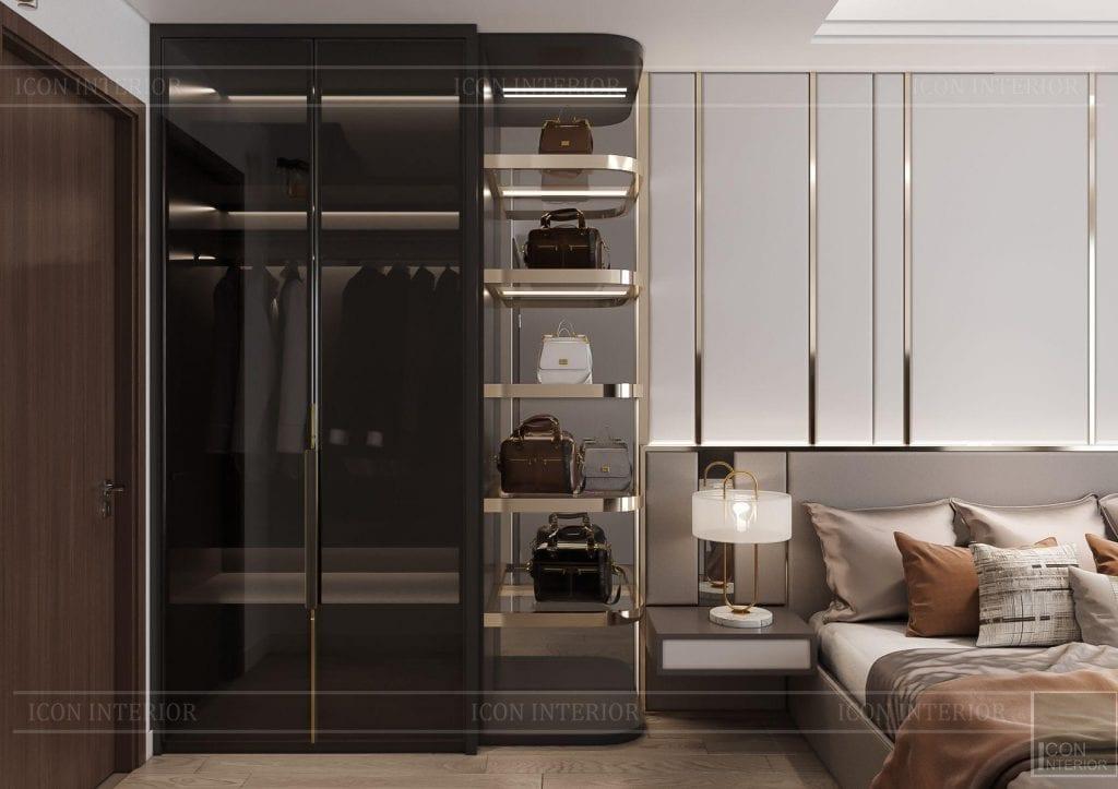 thiết kế nội thất chung cư Hà Đô Centrosa 110m2