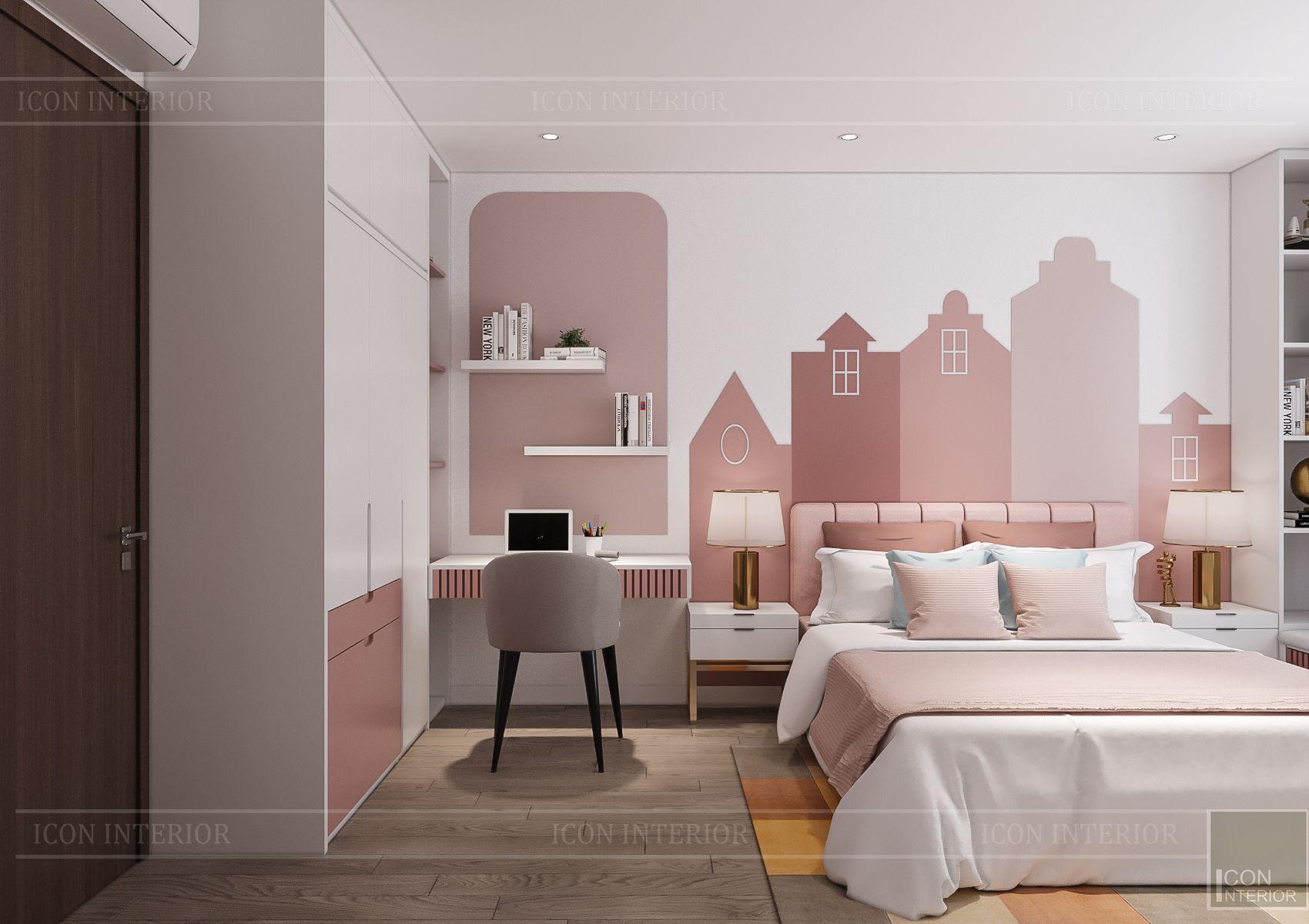 Nội thất phòng ngủ trẻ em Hà Đô Centrosa Iris 4