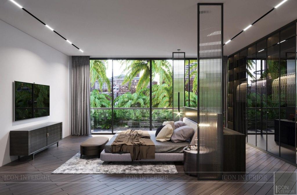 Mẫu biệt thự 2 tầng có hồ bơi đẹp - Phòng ngủ 9