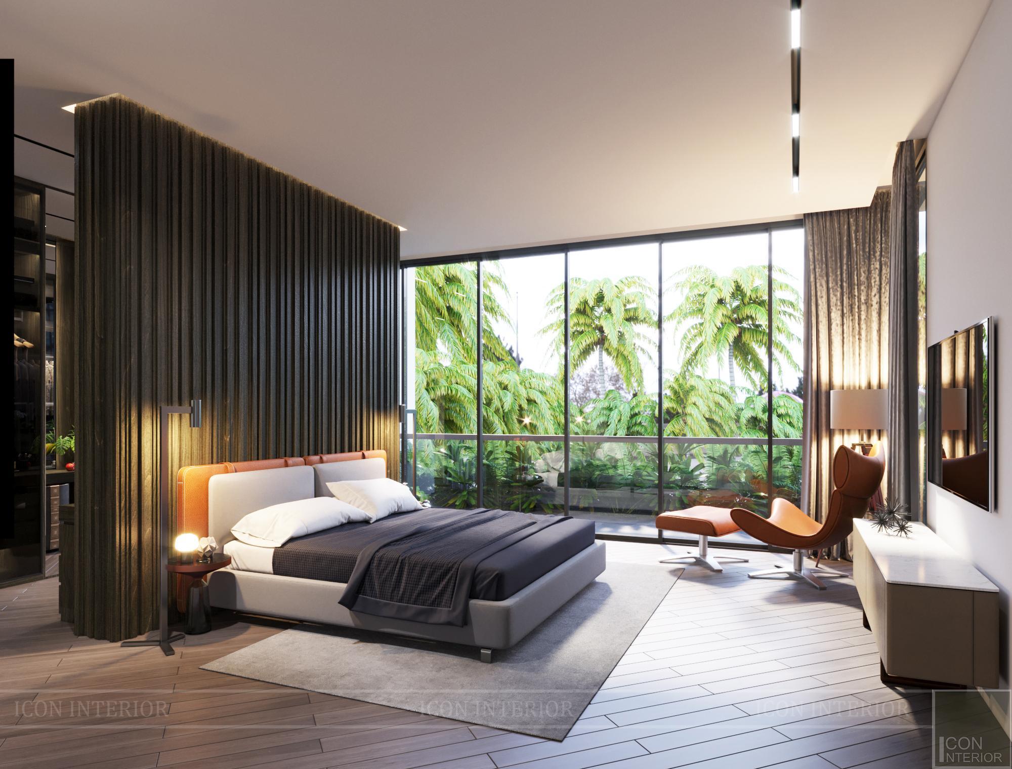 Mẫu biệt thự 2 tầng có hồ bơi đẹp - Phòng ngủ 7