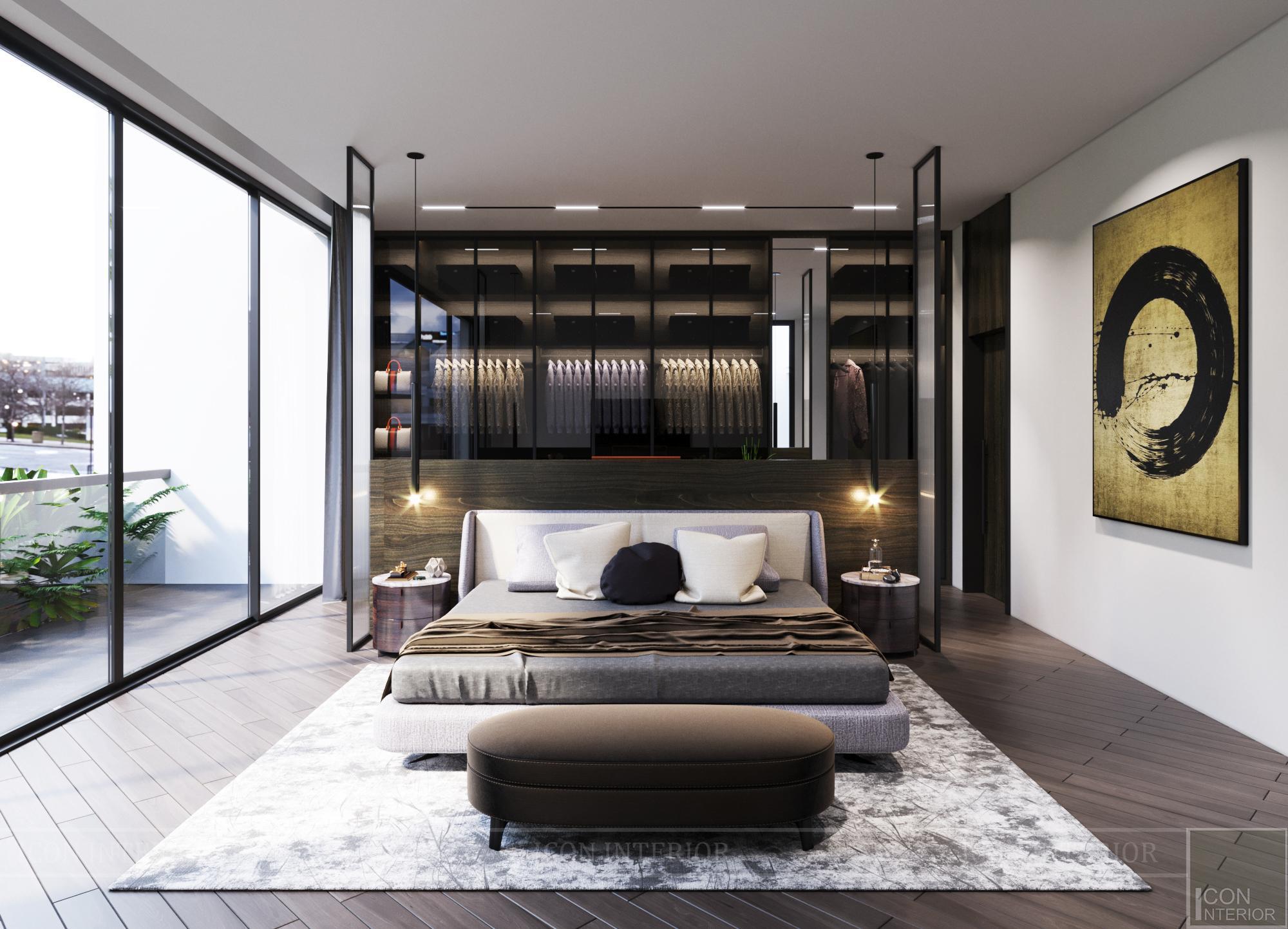 Mẫu biệt thự 2 tầng có hồ bơi đẹp - Phòng ngủ 10