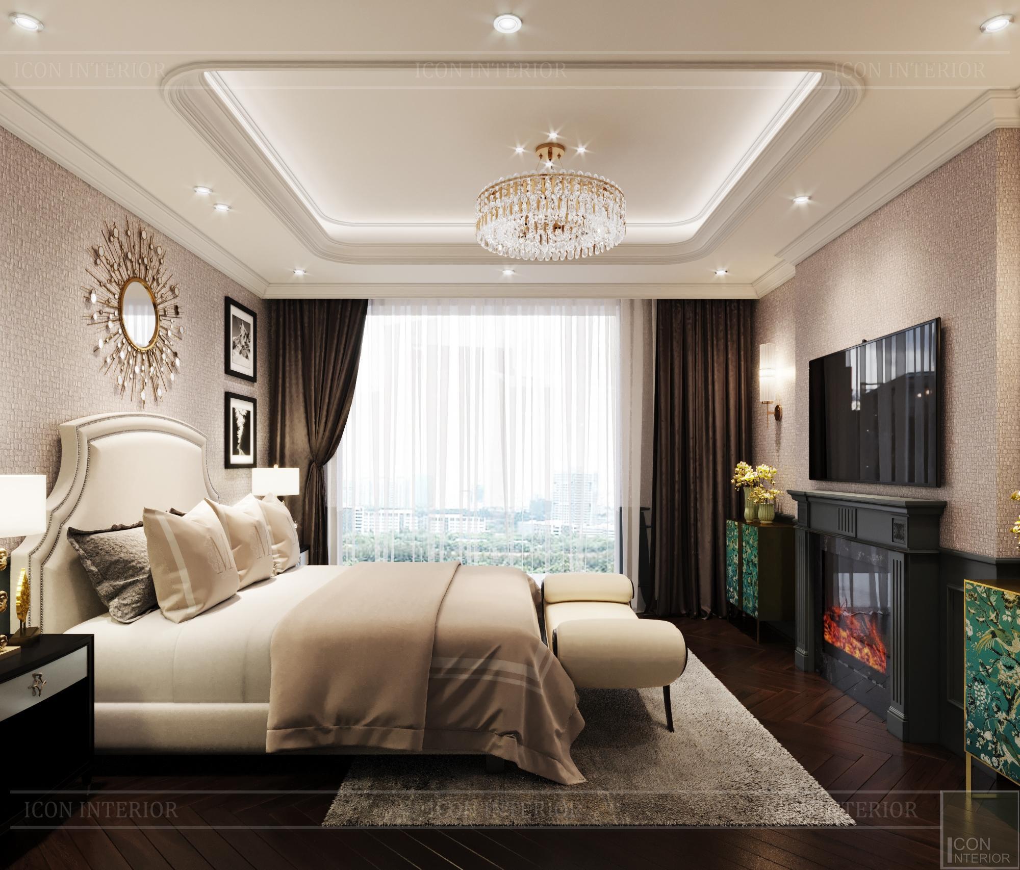Thiết kế biệt thự 3 tầng sân Golf - phòng ngủ 8