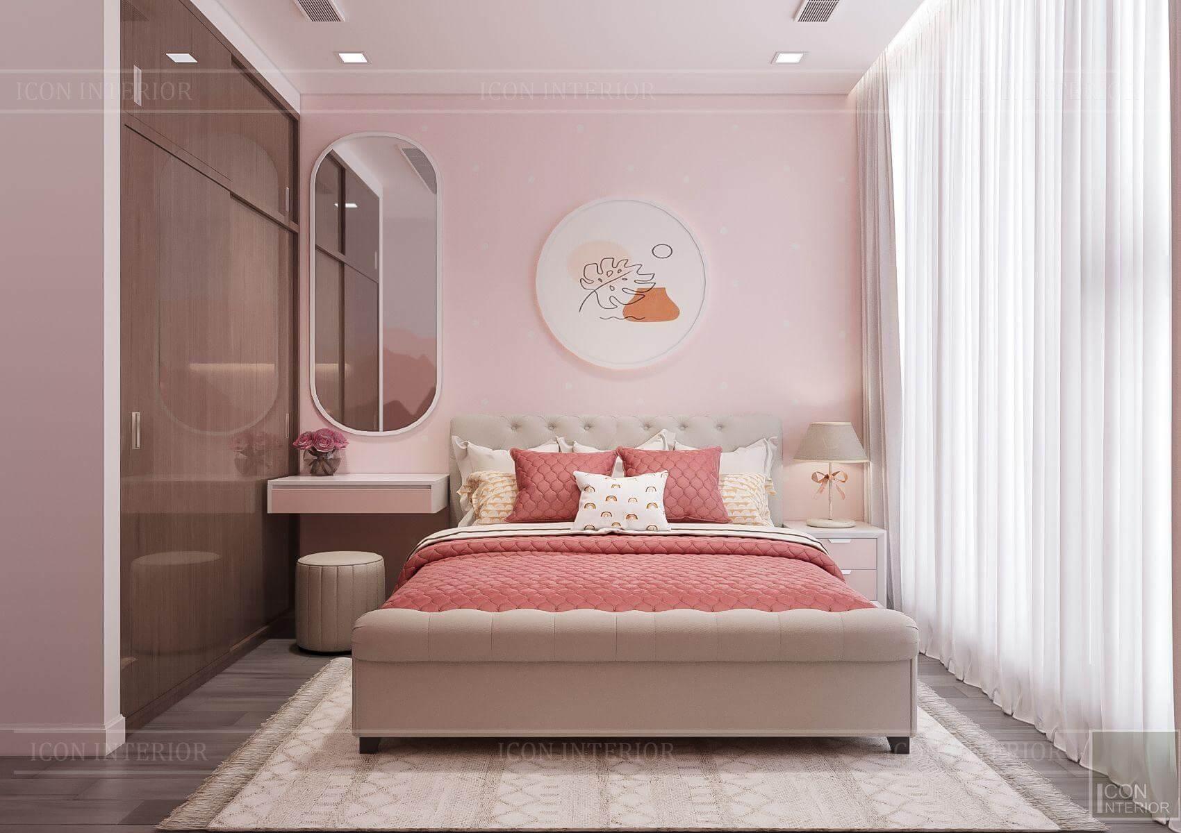 Thiết kế nội thất căn hộ chung cư Vinhomes Ba Son - phòng ngủ trẻ em