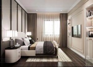 thiết kế biệt thự 2 tầng tân cổ điển - phòng ngủ nhỏ 4
