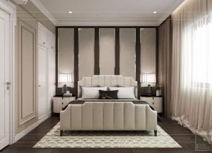 thiết kế biệt thự 2 tầng tân cổ điển - phòng ngủ nhỏ 5