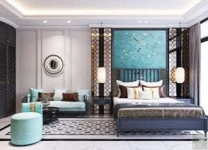 Mẫu thiết kế nội thất căn hộ Studio Masteri quận 4