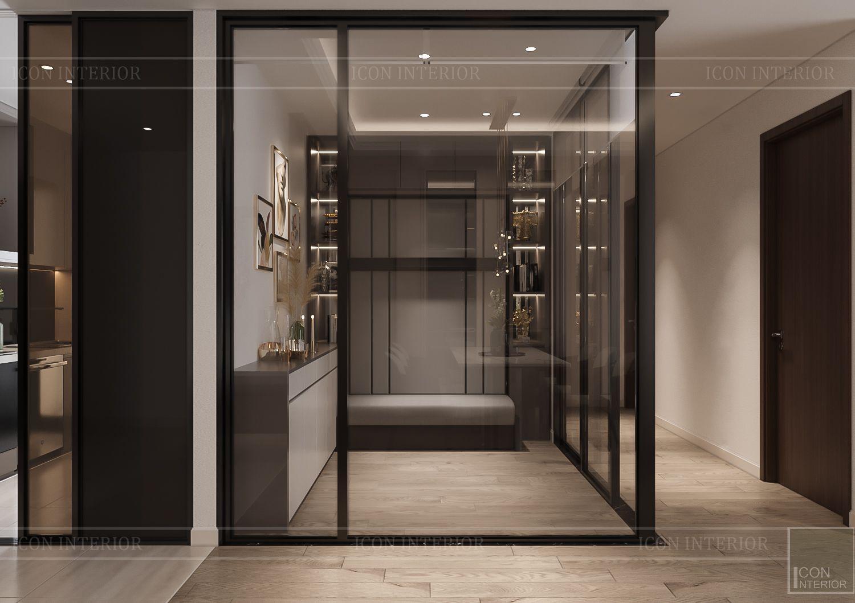 Thiết kế căn hộ Hado Centrosa - phòng đa năng