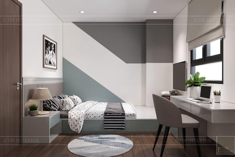 Thiết kế nội thất thông mình cho căn hộ nhỏ CityLand ParkHills -1