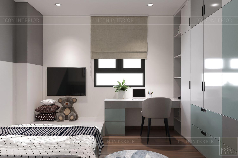 Thiết kế nội thất thông mình cho căn hộ nhỏ CityLand ParkHills - 2