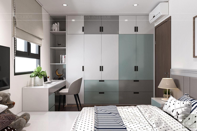 Thiết kế nội thất thông mình cho căn hộ nhỏ CityLand ParkHills - 3