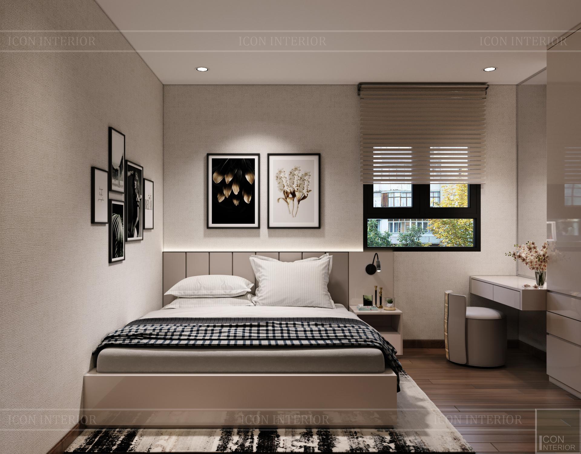 Thiết kế nội thất thông mình cho căn hộ nhỏ CityLand ParkHills - 4