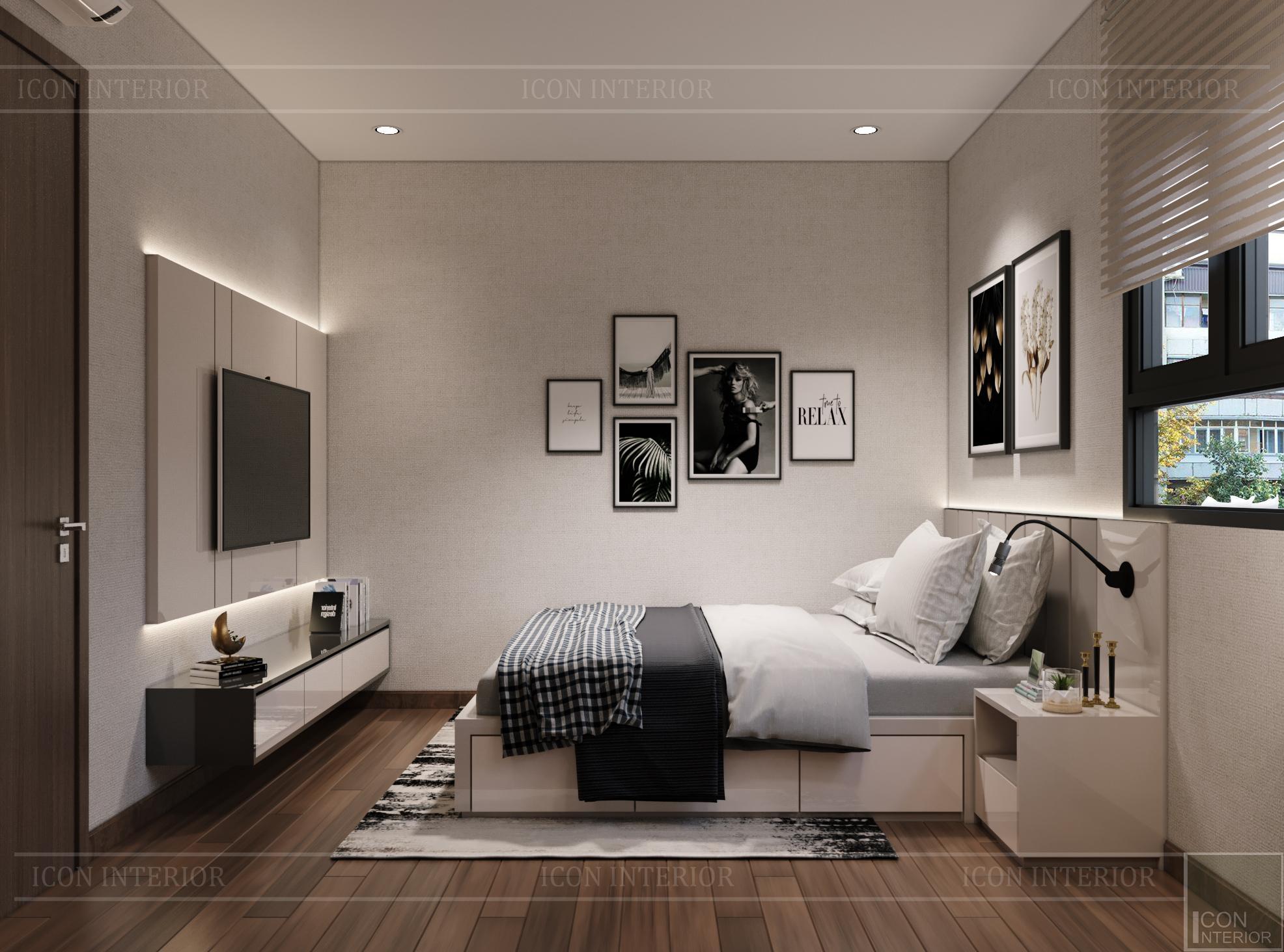 Thiết kế nội thất thông mình cho căn hộ nhỏ CityLand ParkHills - 6