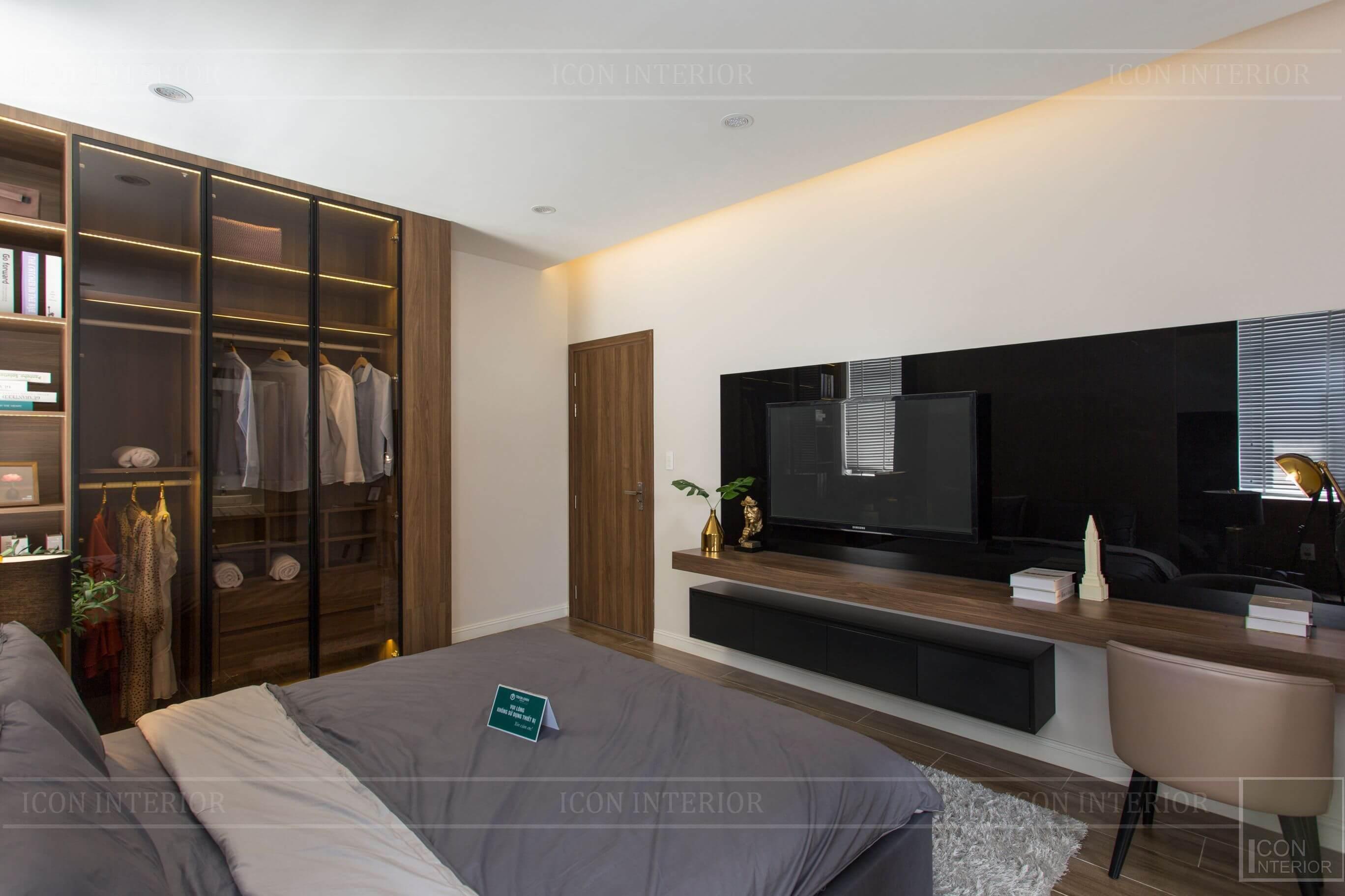 Thiết kế và thi công biệt thự Phúc An City - phòng ngủ 4