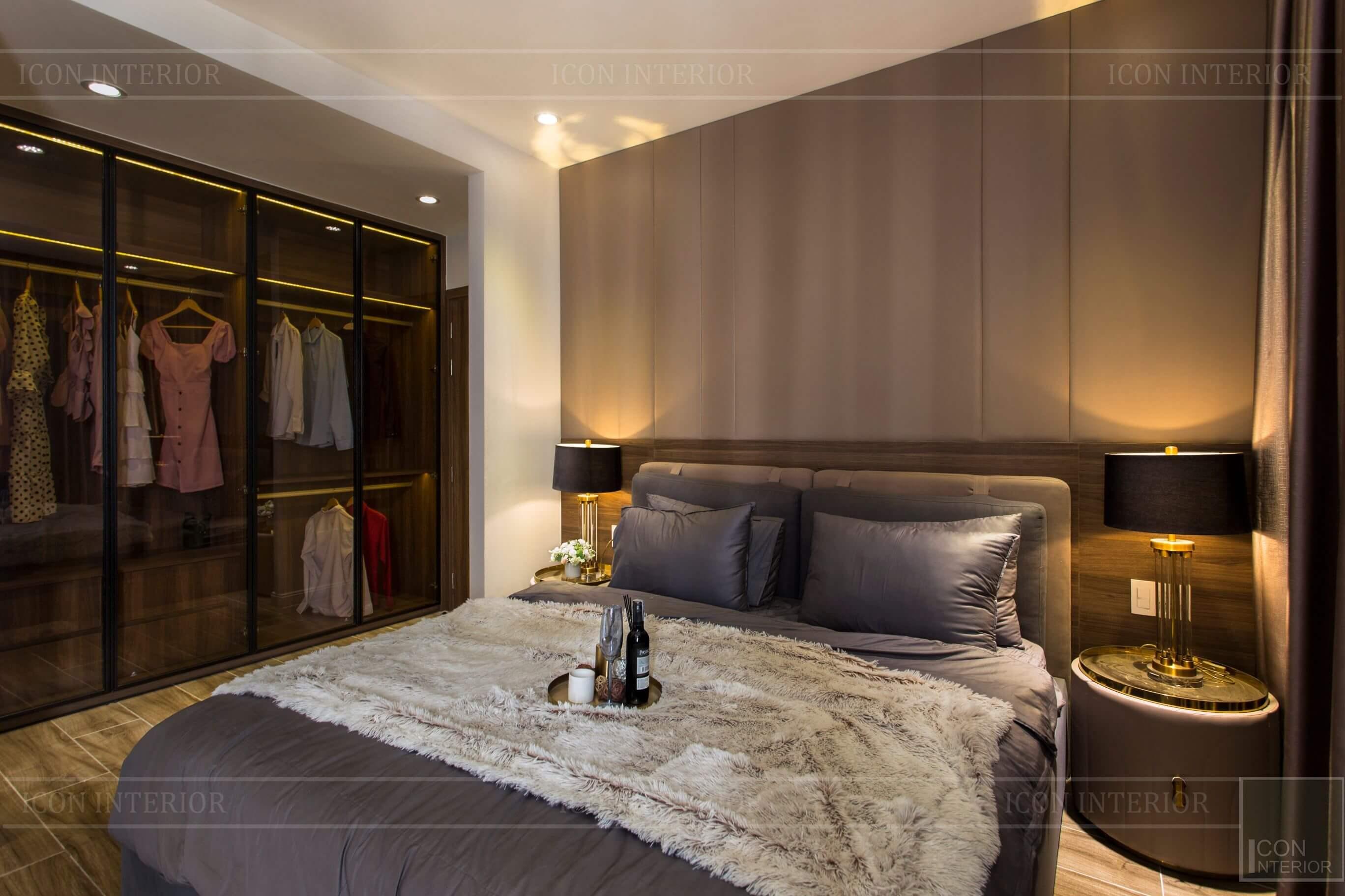 Thiết kế thi công biệt thự - nội thất phòng ngủ 1