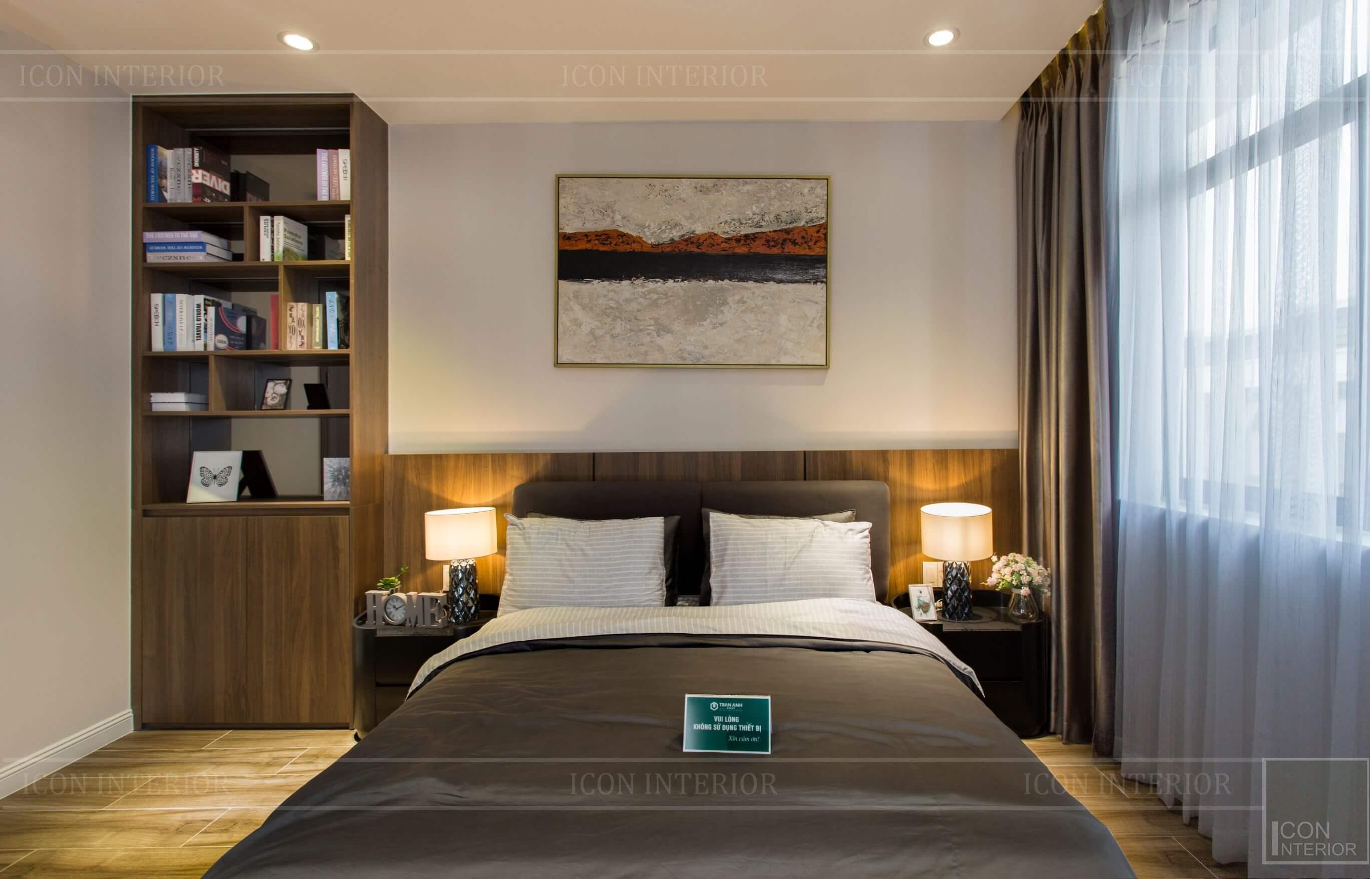 Thiết kế thi công biệt thự - nội thất phòng ngủ 3