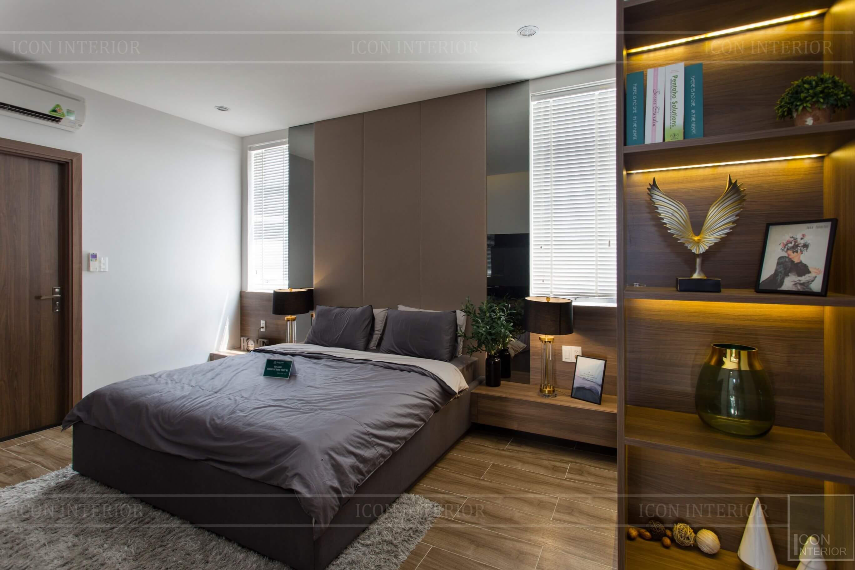 Thiết kế và thi công biệt thự Phúc An City - phòng ngủ 1