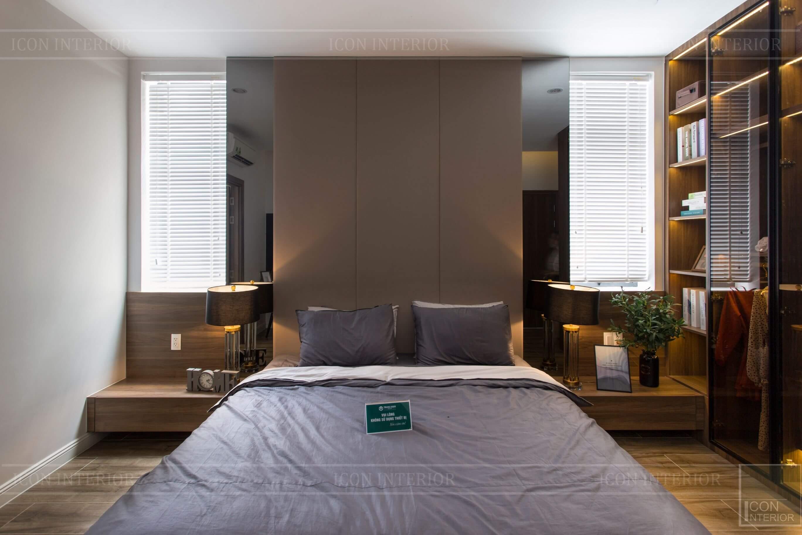 Thiết kế và thi công biệt thự Phúc An City - phòng ngủ 2