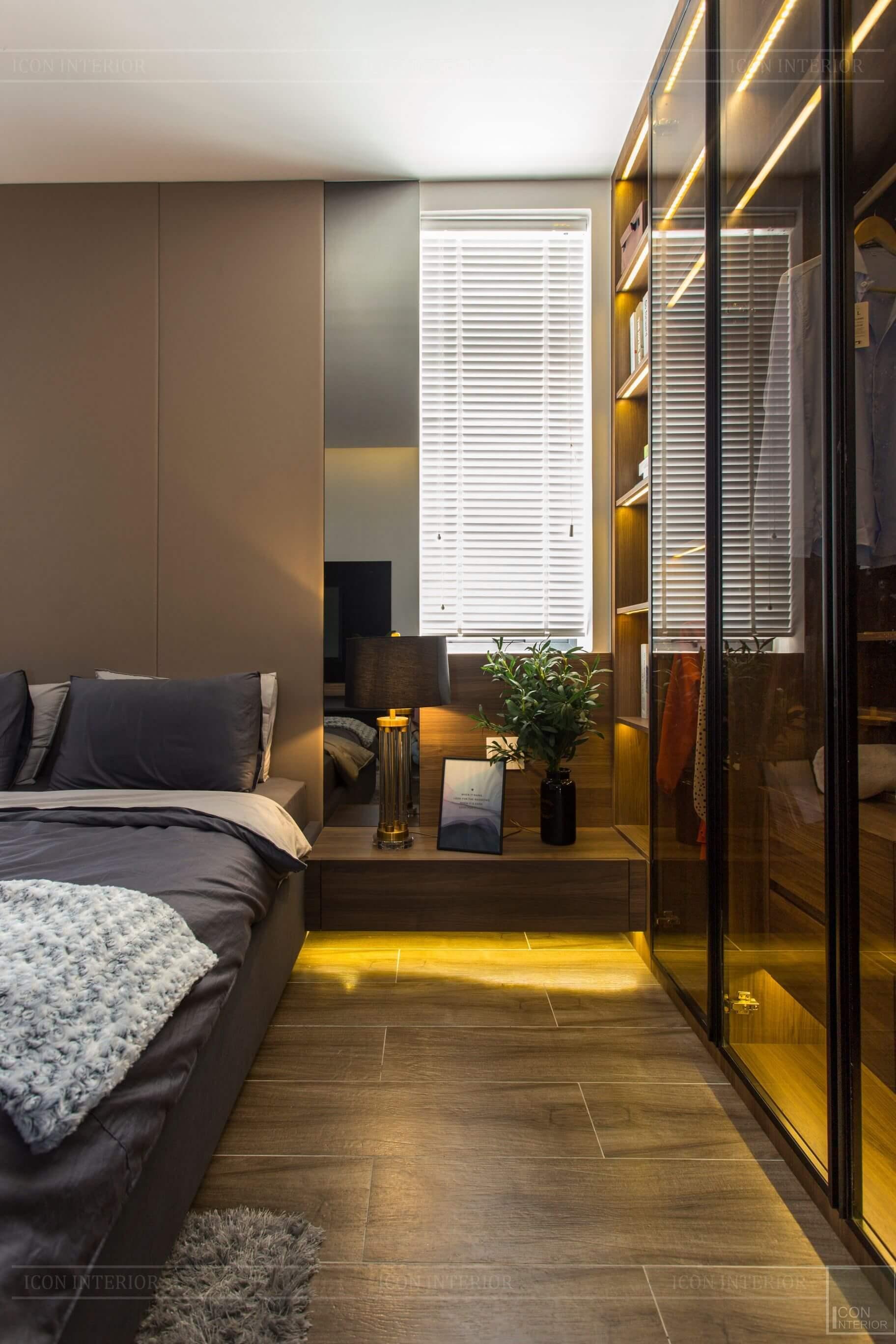 Thiết kế và thi công biệt thự Phúc An City - phòng ngủ 3