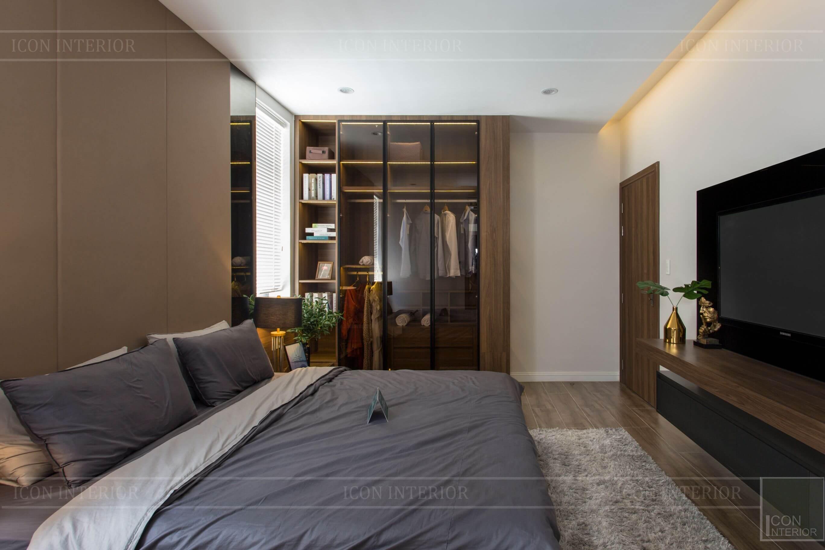Thiết kế và thi công biệt thự Phúc An City - phòng ngủ 5