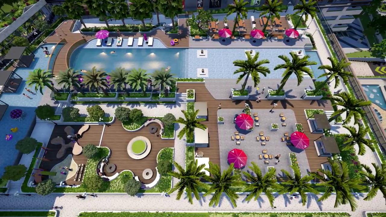 Thiết kế căn hộ Sunwah Pearl 2