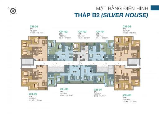 Thiết kế căn hộ Sunwah Pearl 3