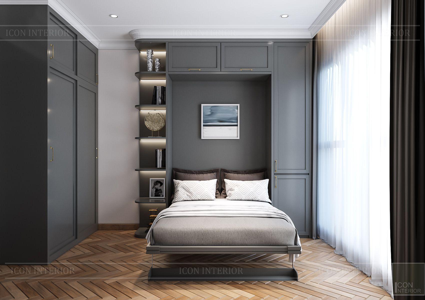 Thiết kế nội thất căn hộ Feliz En Vista - phòng đa năng 1
