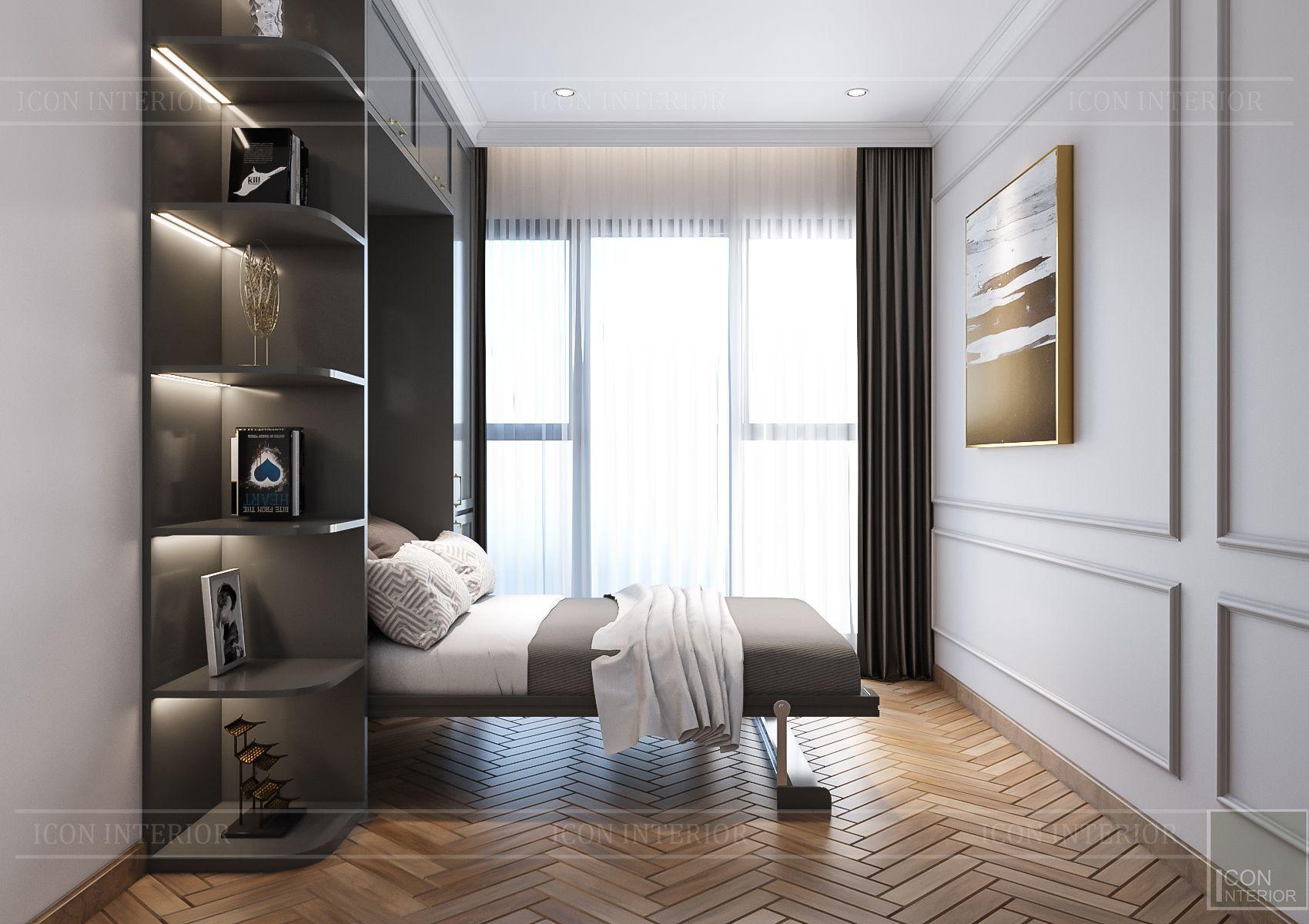Thiết kế nội thất căn hộ Feliz En Vista - phòng đa năng 2