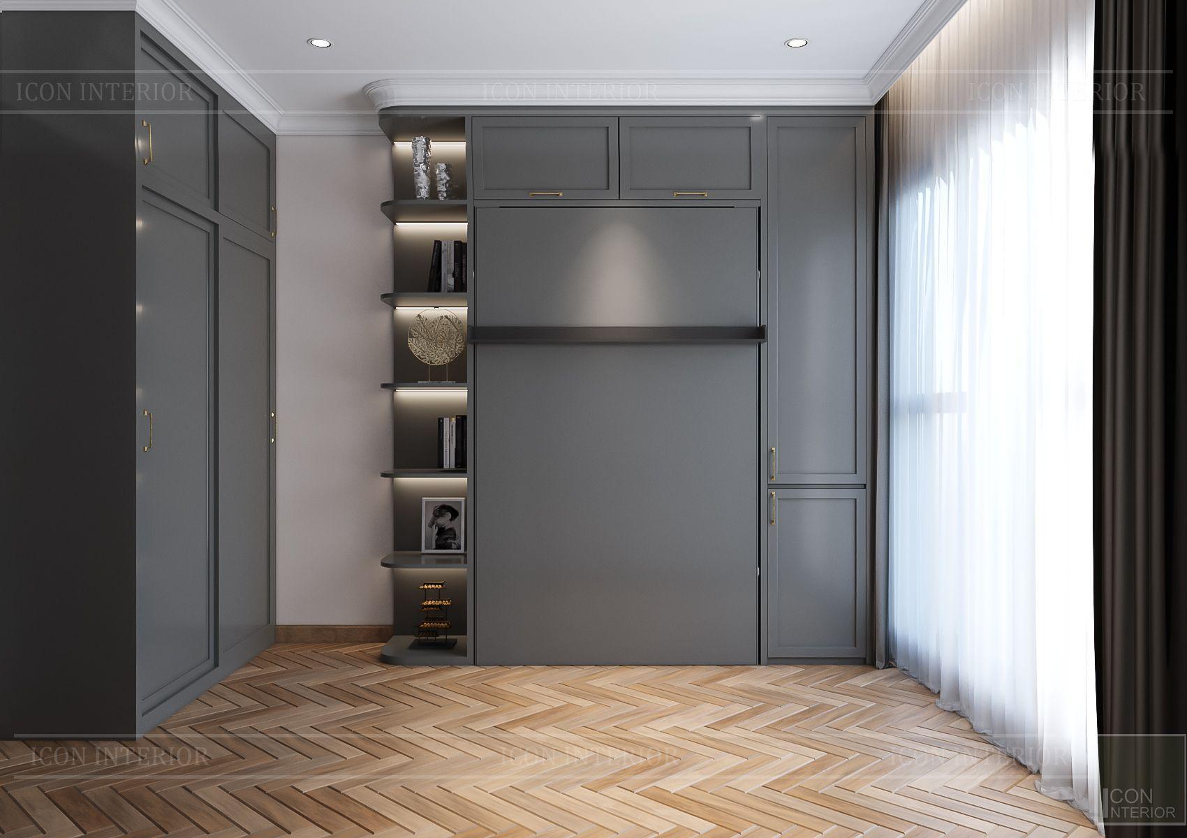 Thiết kế nội thất căn hộ Feliz En Vista - phòng đa năng 3