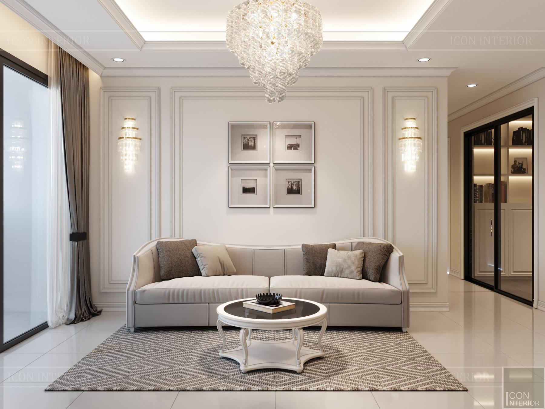 thiết kế nội thất hado centrosa - sofa