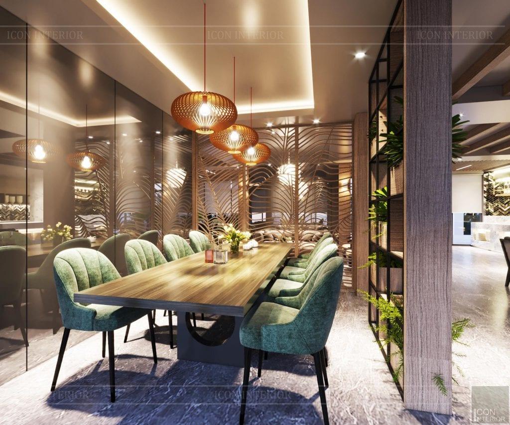 Không gian quán cafe mang phong cách đương đại 14