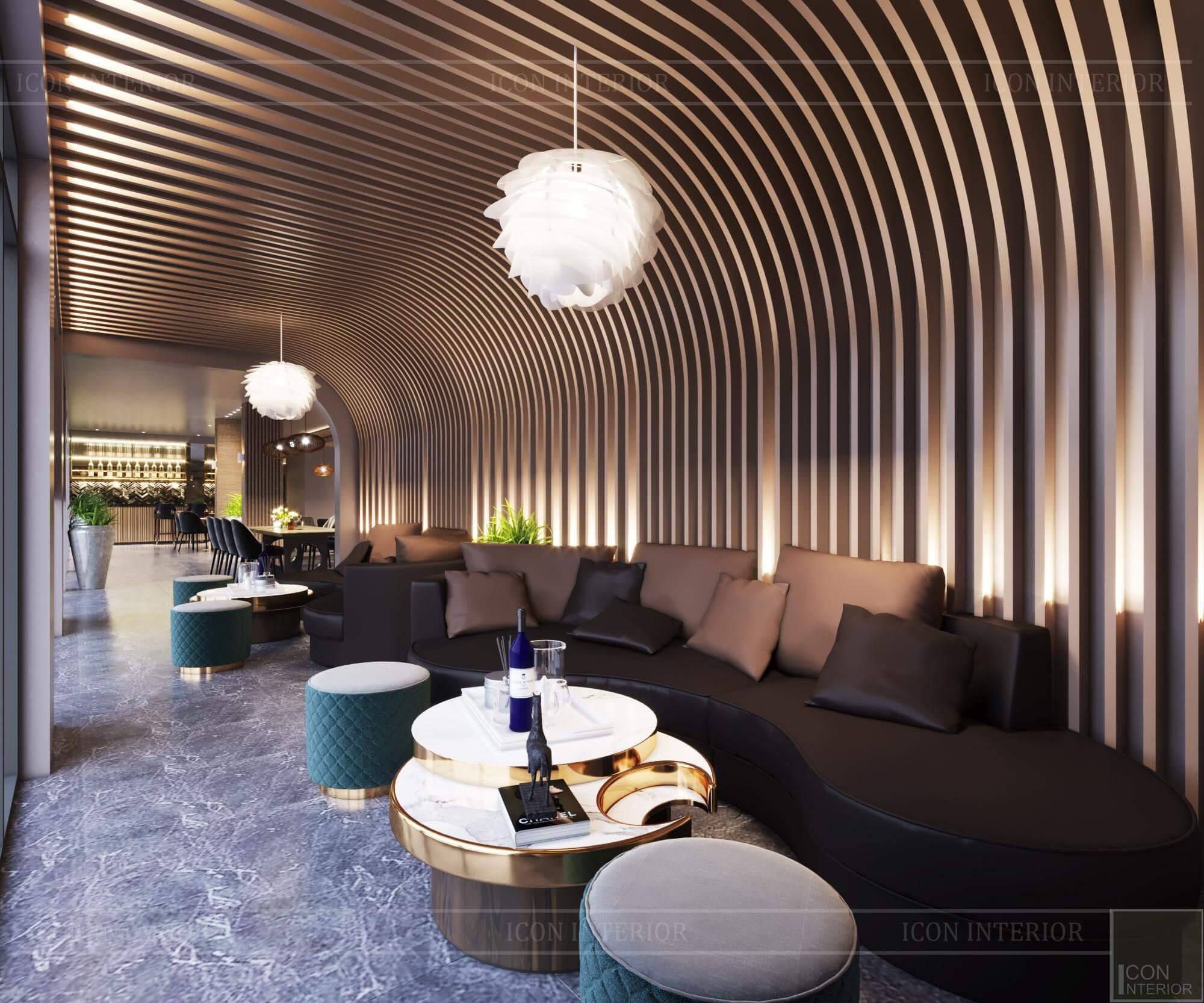 Không gian quán cafe mang phong cách đương đại 3