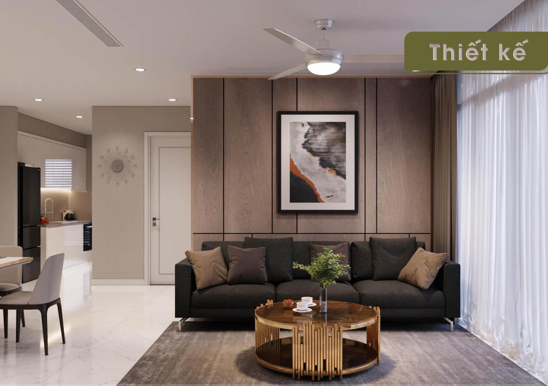 Thiết kế nội thất 3D Landmark 4 - sofa
