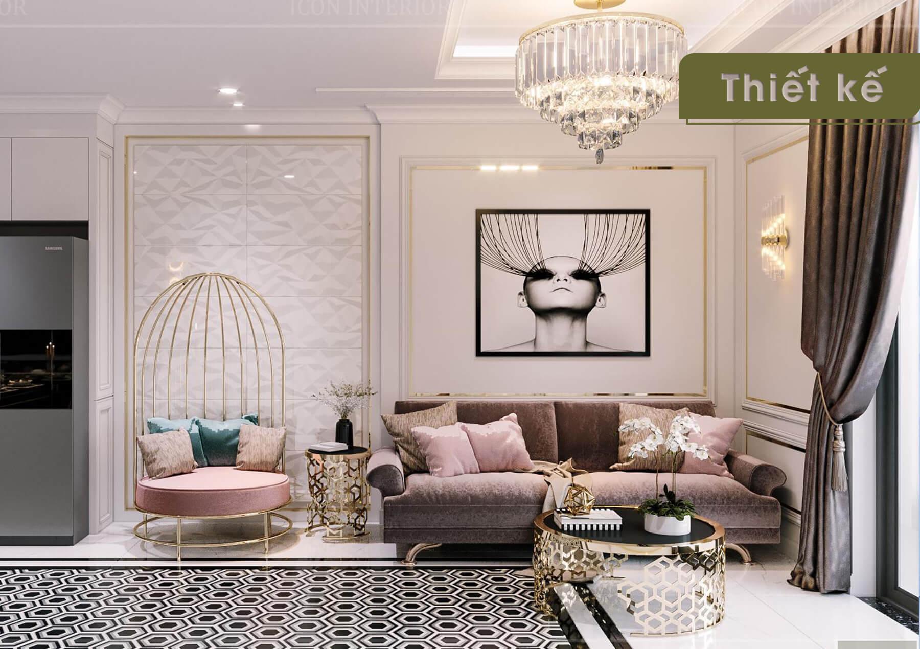 Thiết kế nội thất 3D Landmark 2 - sofa