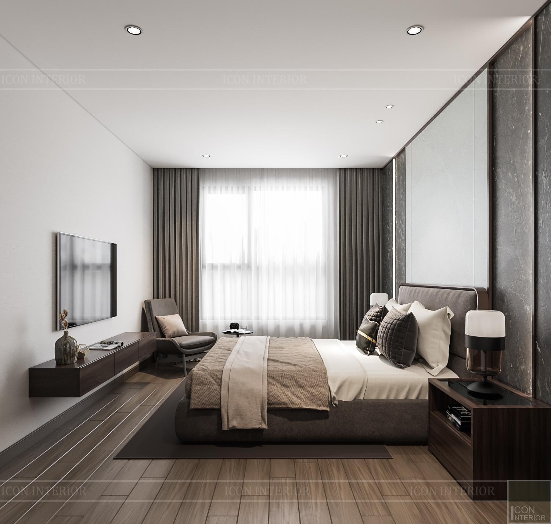 Thiết kế nội thất căn hộ Hado Centrosa - không gian mở
