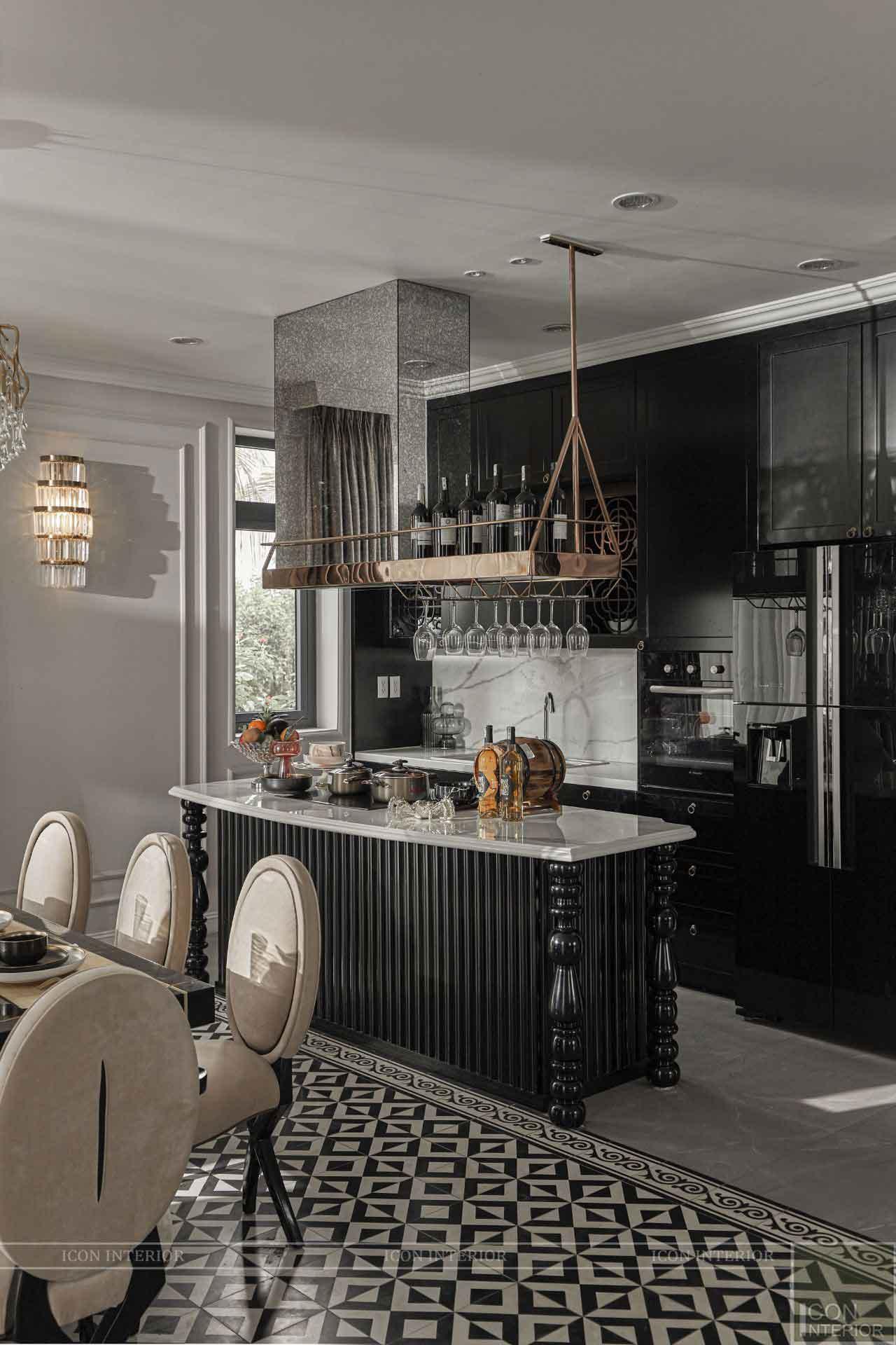 phòng bếp phong cách