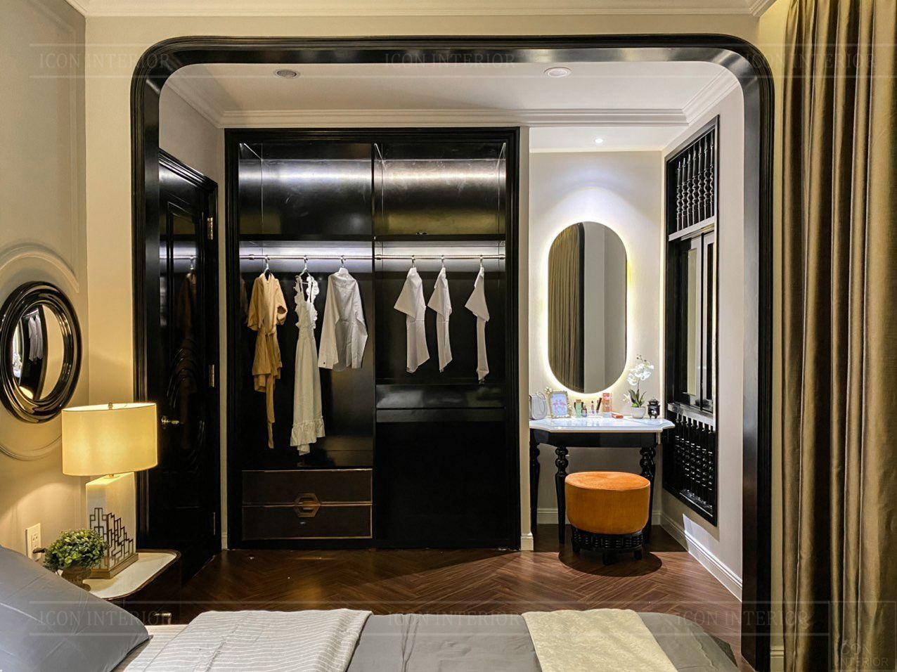 Nội thất nhà mẫu West Lakes Golf & Villas - phòng ngủ