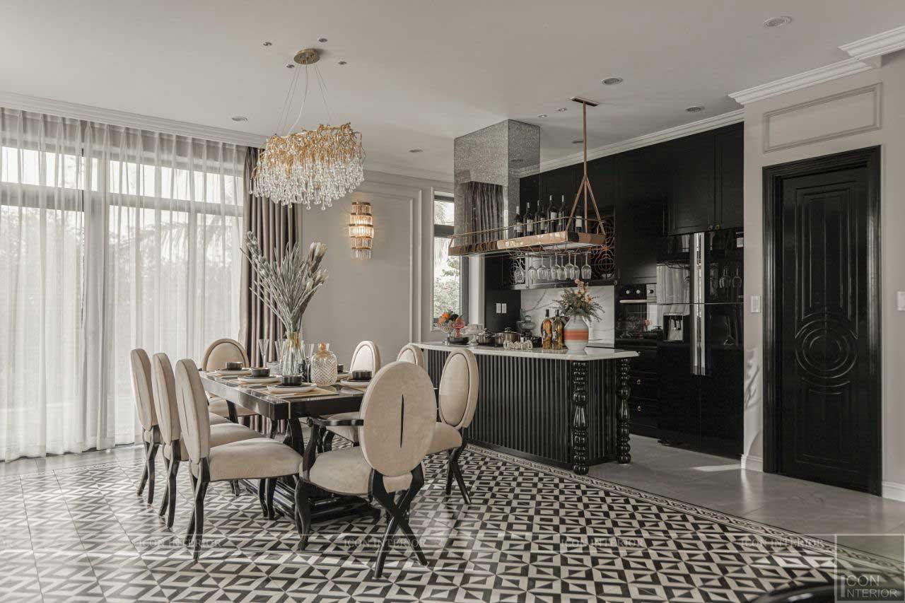 nội thất phòng bếp West Lakes Golf & Villas