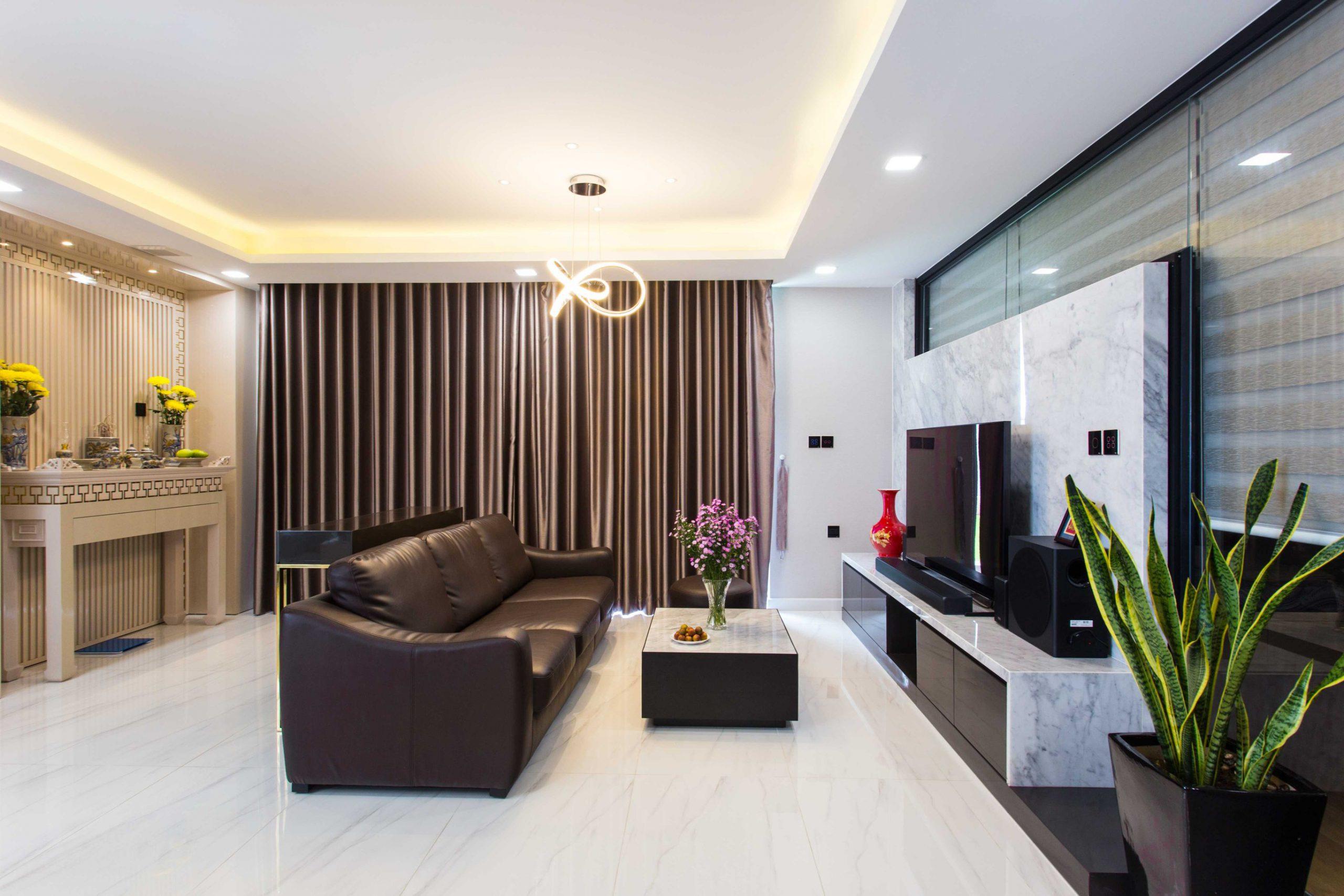 Hình ảnh thực tế thi công nội thất chung cư Kingston 5