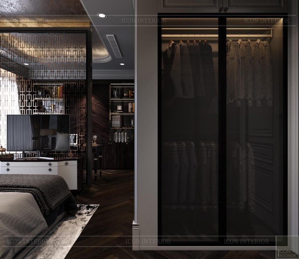 Thiết kế căn hộ100m2 Kingdom 101 phòng ngủ