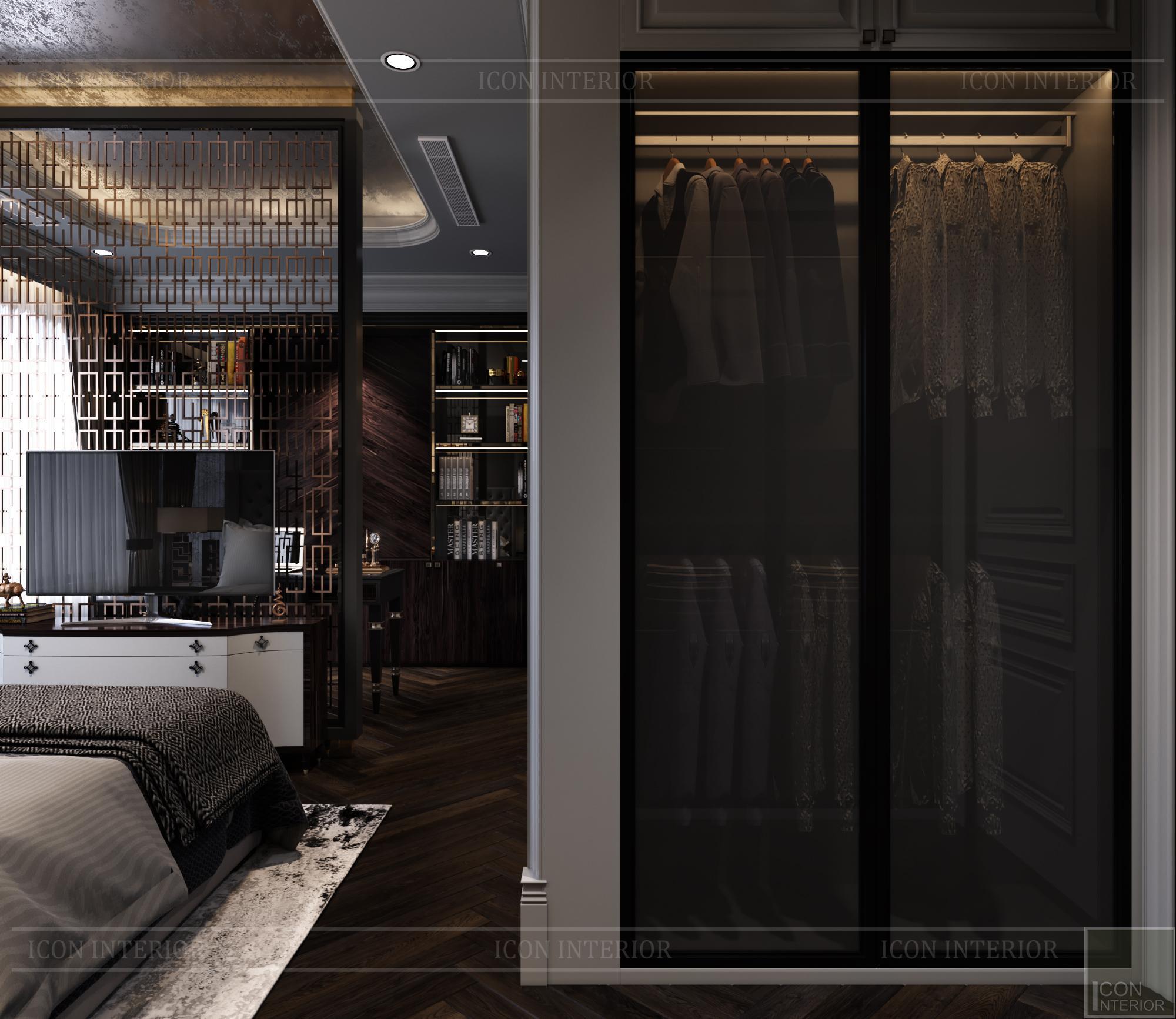 Thiết kế căn hộ Kingdom 101 - phòng ngủ