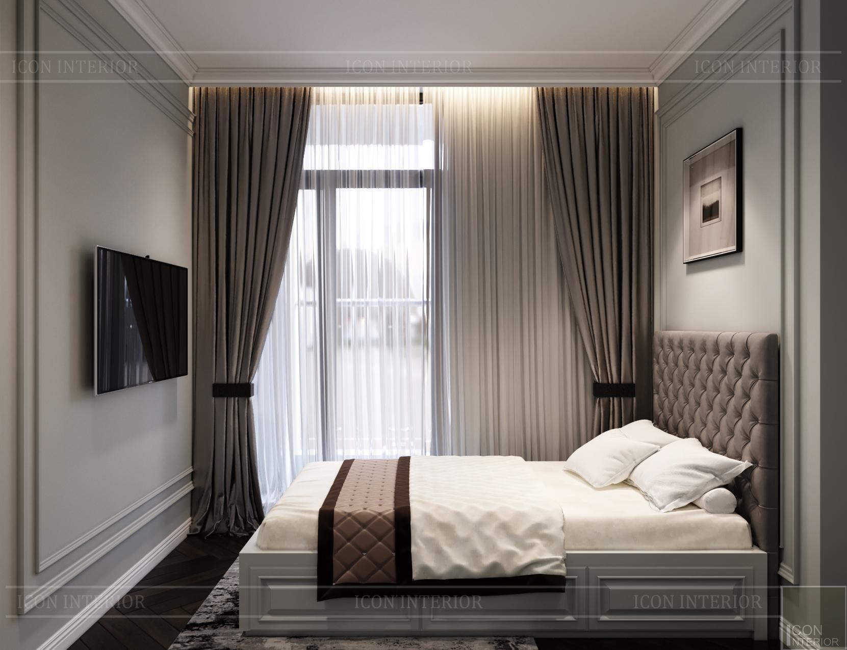 Thiết kế căn hộ Kingdom 101 - phòng ngủ nhỏ