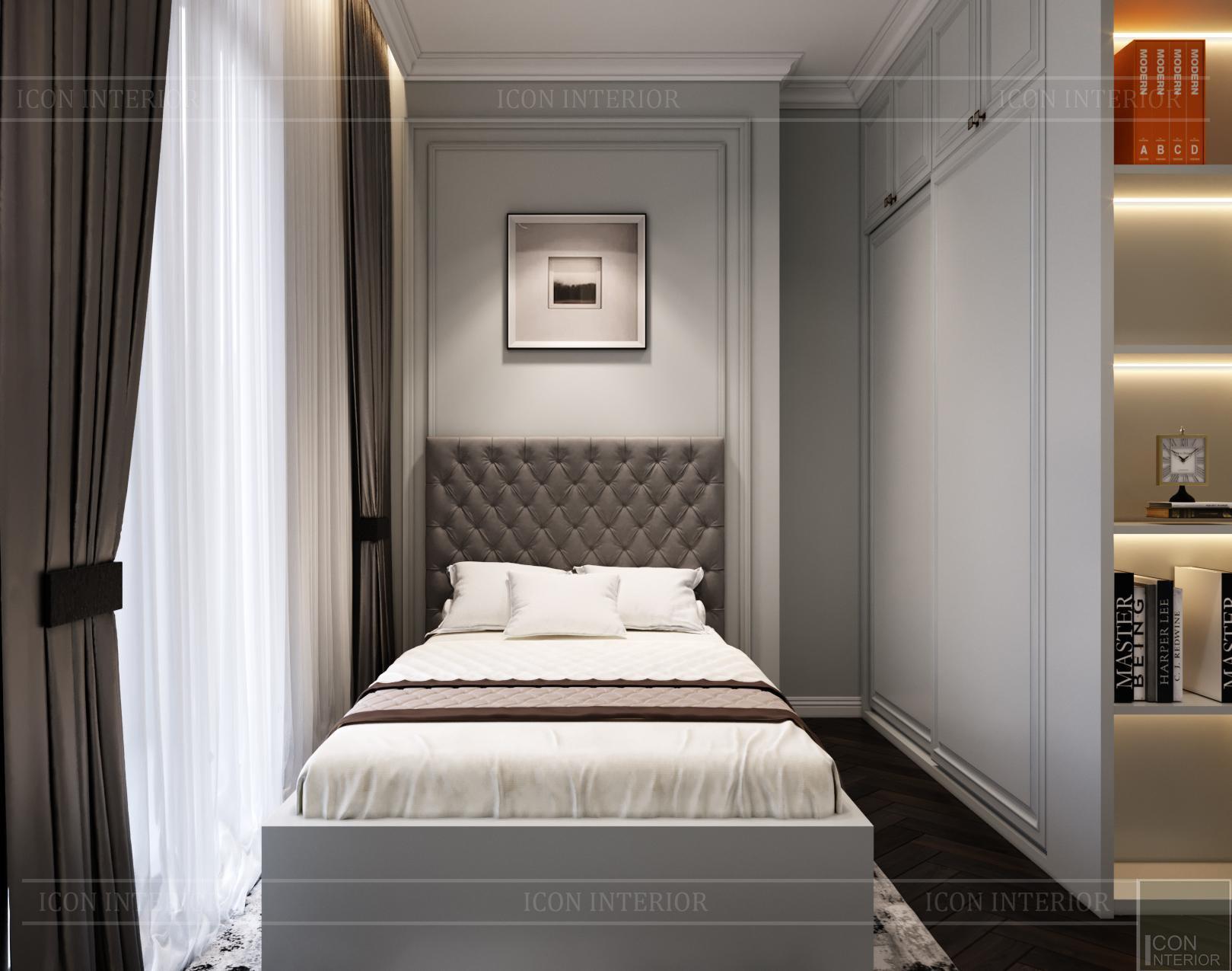 Thiết kế căn hộ Kingdom 101 - phòng ngủ 1